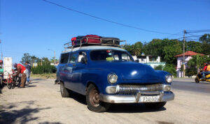 Taxi Colectivo i Kuba.